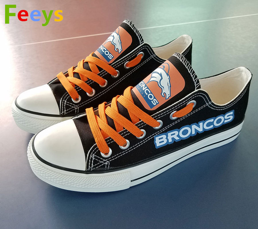 d559a612abeb broncos shoes womens converse style broncos sneakers denver fans birthday  gifts. Next. 1