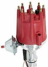 Ford SBF Pro Series R2R Distributor 289 302 5.0L V8 8mm Spark Plug Kit 45K Coil image 3