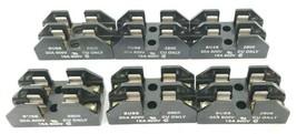LOT OF 6 COOPER BUSSMANN 2808 FUSE HOLDERS 30A, 600V, 2-POLE image 1