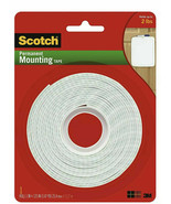 NEW 3M Scotch Permanent Mounting Tape, 1 Inch x 125 Inches - $9.40