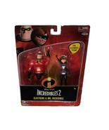 Disney Pixar Incredibles 2 Mr Incredible & Elastigirl Collectible Figure... - $7.86