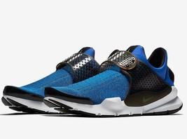 Nike Sock Dart Kjcrd Blue Jay Volt Star Black Size 12 Slip On 819686 405 - $74.95