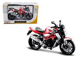 2012 MV Agusta Brutale 1090 RR Red/Silver 1:12 Motorcycle by Maisto - $25.70