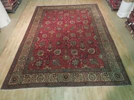 Mahal Rug Decorative Admirable Handmade Rug 10x13 Persian Original Indoo... - $936.71