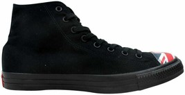 Converse Chuck Taylor All Star Hi Black/Navy-Red 153910C Men's Size UK 12 - $69.43
