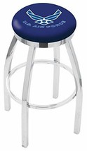 "Holland Bar Stool L8C2C United States Air Force Swivel Bar Stool, 30"" - $183.98"