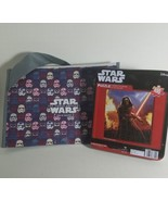 Star Wars 100 piece Puzzle & Subway Bag:  measures 9.125 Inches x 10.375... - $9.79