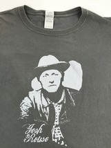 Josh Rouse Gray XL Tour Concert T-Shirt Country Autographed (Hard to see) - $22.24