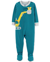 Carter's Baby Boys Construction Footed Pajamas 24 months - $11.39
