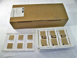 Eaton XBMUCEMLP22X22 Marker Card Equipment Markers Box Of 10 New - $48.51