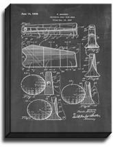 Universal Golf Club Head Patent Print Chalkboard on Canvas - $39.95+