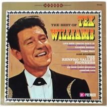 TEX WILLIAMS Best Of + Renfro Valley Pioneers LP 1967 Honky Tonk Western... - $11.74