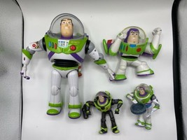 "Disney Pixar Toy Story Buzz Lightyear 12"" Works & 3 others ** Lot of 4 ** - $31.99"