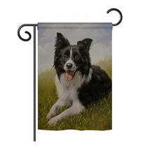 "Border Collie - 13"" x 18.5"" Impressions Garden Flag - G160077 - $17.97"
