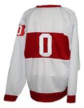 Custom Name # Montreal Wanderers Retro Hockey Jersey New White Any Size image 2