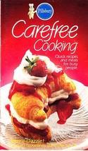 Pillsbury Classic Cookbook, Carefree Cooking, Quick Recipes & Meals, 198... - $2.25