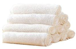 Set of 5 Bamboo Fiber Cleaning Cloth Eco Kitchen/Household/Dish Cloth White - $20.23