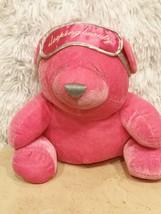 2005 Limited Edition Victoria Secret Hot Pink Sleeping Beauty Teddy Bear - $6.79