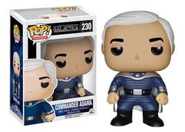 Classic Battlestar Galactica Commander Adama Vinyl POP Figure Toy #230 FUNKO MB - $13.54