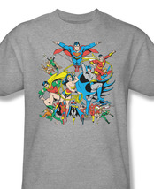 Ends tee batman superman green lantern wonder woman for sale online gray graphic tshirt thumb200