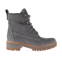 Timberland Courmayeur Valley 6 Inch Women's Boots Dark Grey Nubuck TB0A1KLV - $124.20