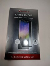ZAGG InvisibleShield Glass Curve Screen Protector for Samsung Galaxy S9+ USED - $8.59