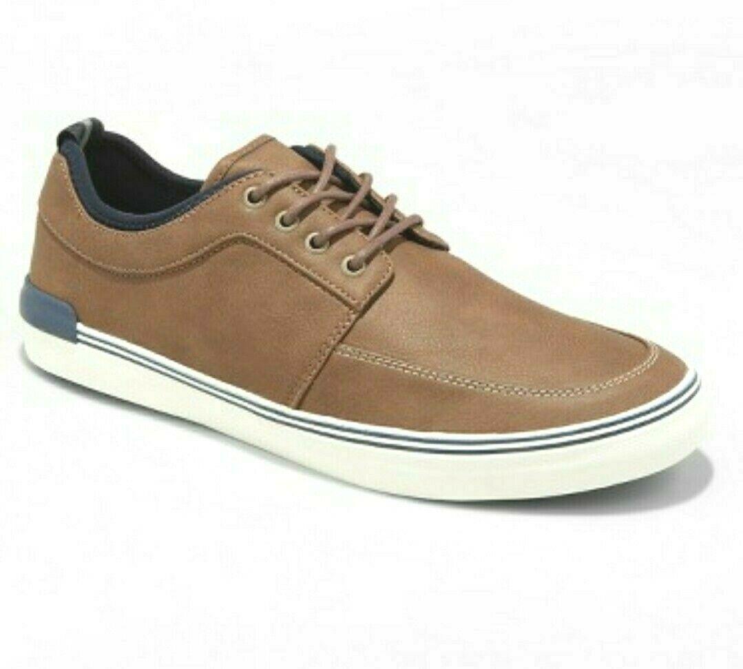 Hombres Bernie Informal Zapatos Náuticos Goodfellow & Co Marrón Oscuro 13US Nwt