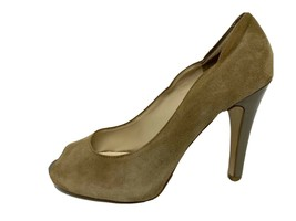 Nine West ceneter Ladies Heel Shoes Leather Open Top For Size 8.5M - $21.73