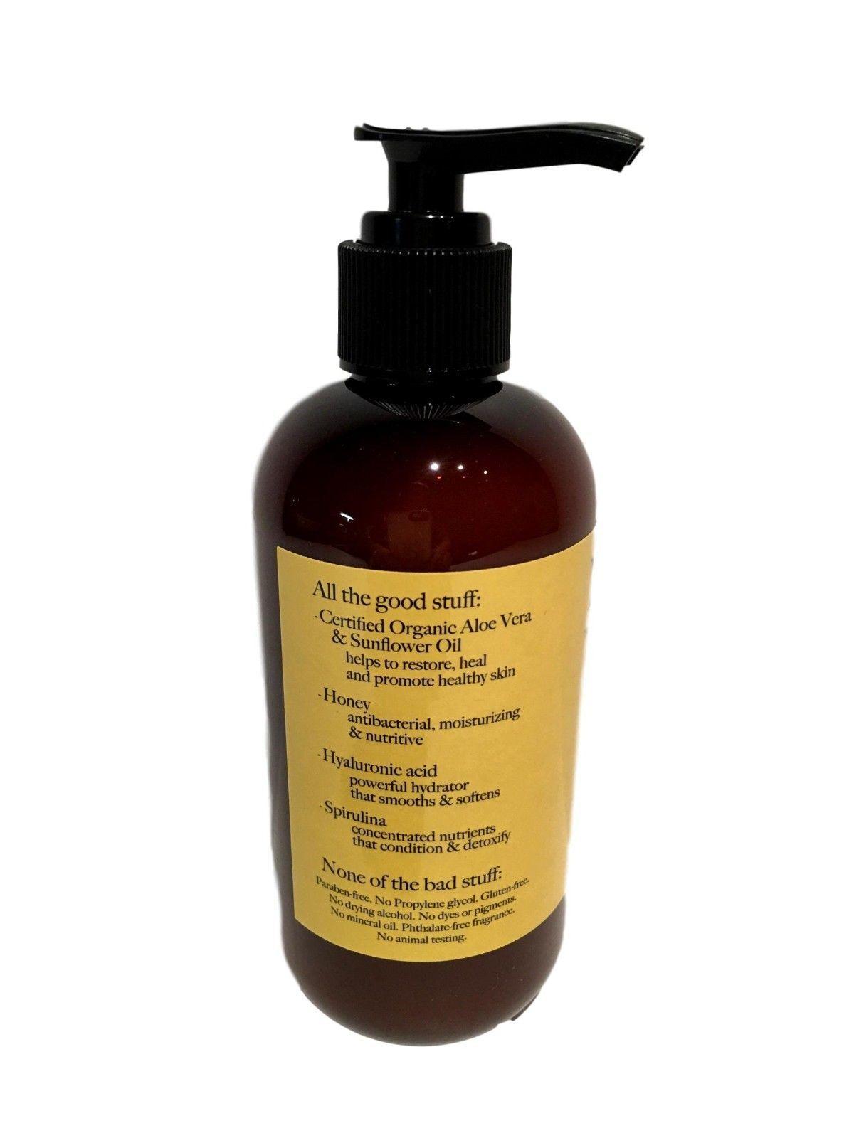 The Naked Bee Orange Blossom Honey Moisturizing Hand Body Lotion 8.0 oz 2 Pump image 3