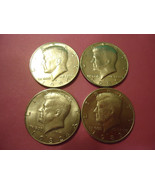 1980-1983-P KENNEDY HALF DOLLARS     **L@@K**        COMBINED SHIPPING - $5.94