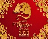 OFILA Chinese New Year Backdrop 10x8ft Year of The Rat Photos Background Chinese