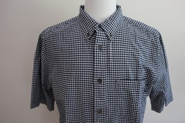 Woolrich Men's Short Sleeve Cotton Button Down Shirt size L - $29.69