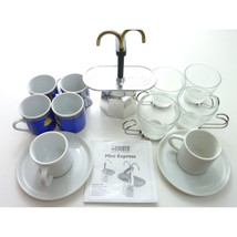 Bialetti Mini Express 2-Cup Stovetop Percolator Espresso Maker 10 Expres... - $65.00