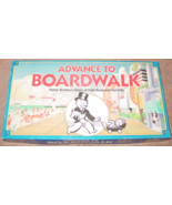 ADVANCE TO BOARDWALK GAME 1985 PARKER BROTHERS GAME OF HIGH RISES COMPLETE - $15.00