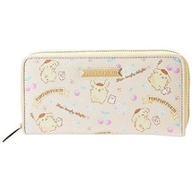 Sanrio Pom Pom Purin Zip-Around Long Wallet Yellow New - $73.90