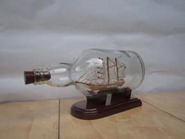 Dewaruci Miniature Ship in Bottle Chivas Very Rare and Unique Handmade - $35.00