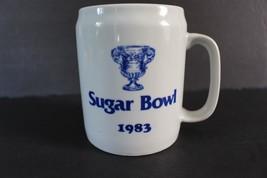 Vintage Sugar Bowl Coffee Mug Cup 1983 Penn State Nittany Lions Georgia ... - $9.89