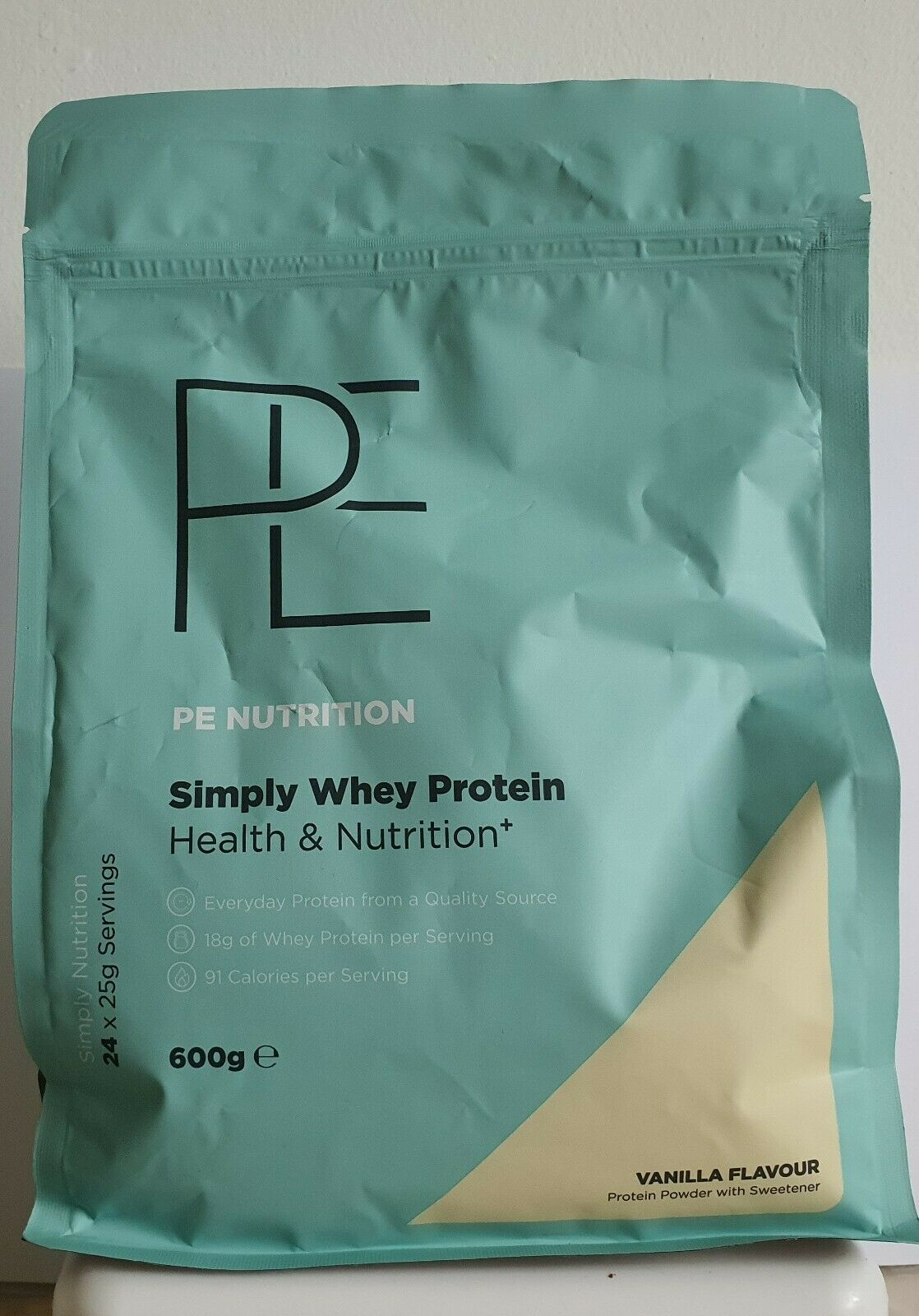 Primary image for PE Nutrition Simply Whey Vanilla Flavour 600g