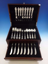 Lily by Frank Whiting Sterling Silver Flatware Service For 8 Set 48 Pieces - $2,895.00