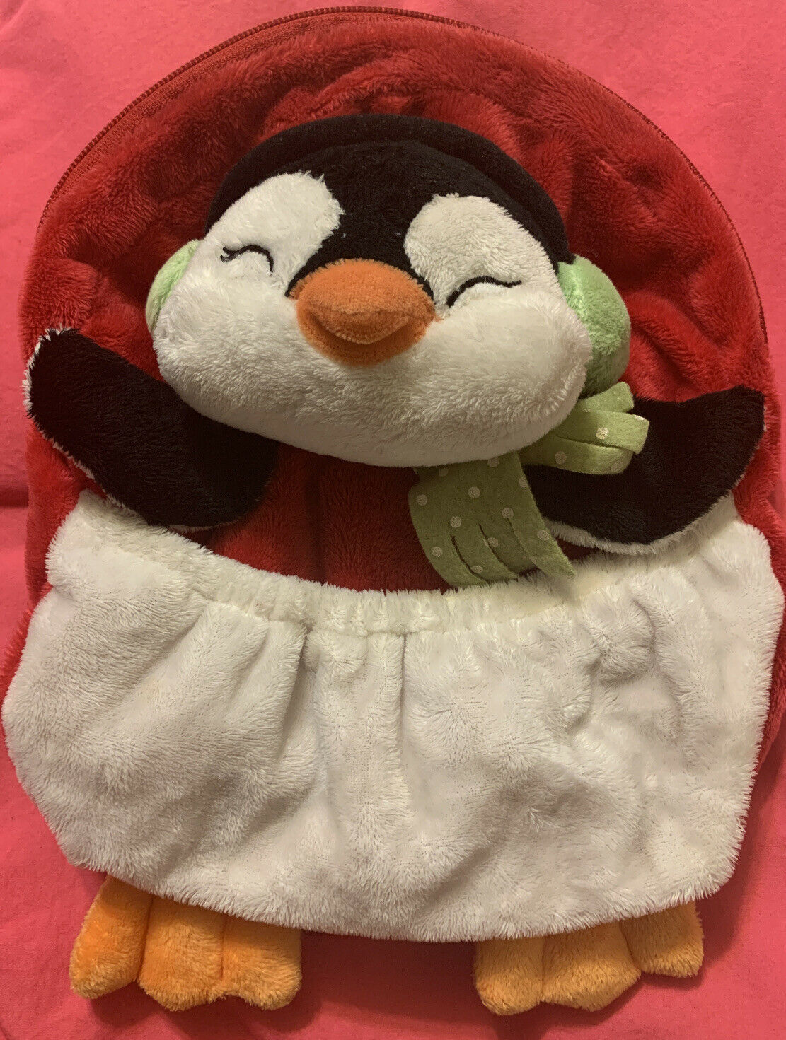 Primary image for Ganz Cozy Cuties Penguin Backpack