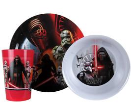 Star Wars Episode 7 Plate, Bowl & Cup Set - $15.95
