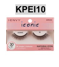 I Envy By Iconic Collection 3D Angle & Volume Eyelashes # KPEI10 Natural Icon - $3.75