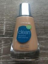 Covergirl Clean Liquid Foundation 30mL Oil Control, 565 Tawny. New  - $8.86