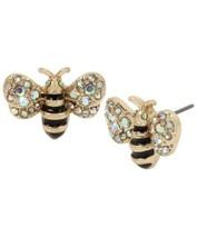 Betsey Johnsons Women's Bumble Bee Stud Earrings Free Shipping - $29.70