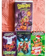 Scooby Doo VHS Lot of 4 Includes Creepiest Capers, A Nutcracker Scoob, More - $19.79