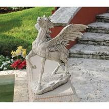 Pegasus Winged Horse Greek Mythology Statue Sculpture Lawn Garden Yard P... - $247.49