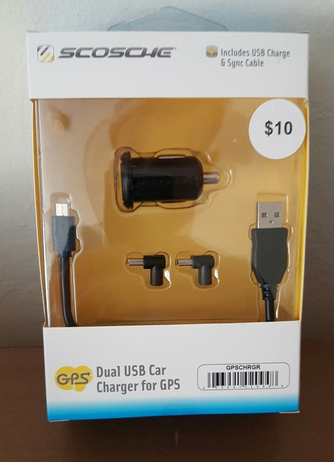 Primary image for Scosche  Universal GPS Car Charger.