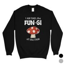 365 Printing Fungi Dad Mushroom Mens/Unisex Fleece Sweatshirt Silly Gift... - $20.99+