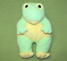 "Ty PILLOW PALS FROGBABY Frog Baby Green Plush RATTLE 12"" 1999 Toy Lovie - $23.38"