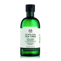 The Body Shop Tea Tree Skin Clearing Facial Wash, 13.5 Fl Oz/ 400 ml - $18.00